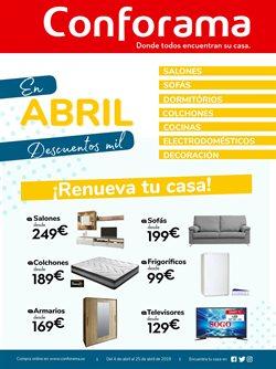 Ofertas de Hogar y muebles  en el folleto de Conforama en San Cristobal de la Laguna (Tenerife)