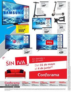 Ofertas de Televisores  en el folleto de Conforama en Santa Lucía de Tirajana