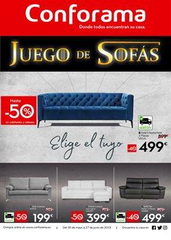 Ofertas de Hogar y muebles  en el folleto de Conforama en Antequera