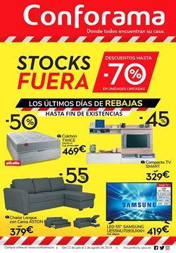 Ofertas de Hogar y muebles  en el folleto de Conforama en Sitges