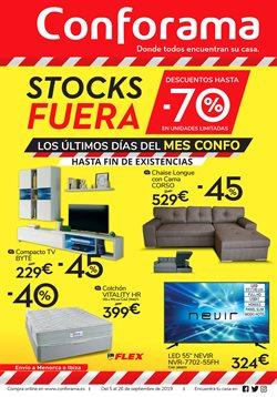 Ofertas de Hogar y muebles  en el folleto de Conforama en Calvià