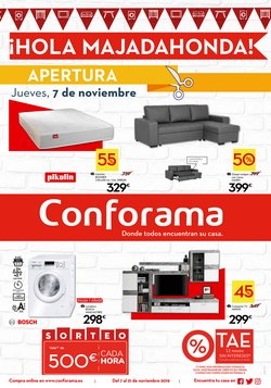 Ofertas de Hogar y muebles  en el folleto de Conforama en Villanueva de la Cañada