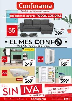 Ofertas de Hogar y Muebles en el catálogo de Conforama en Castellón de la Plana ( Publicado hoy )