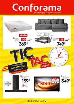 Ofertas de Hogar y Muebles en el catálogo de Conforama en Teulada ( Caduca hoy )