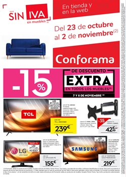Ofertas de Smart tv led 50'' en Conforama