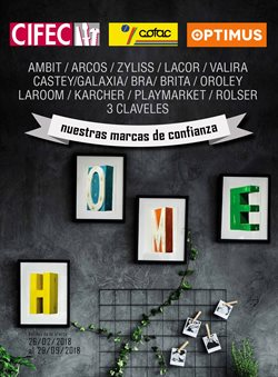 Ofertas de Cifec  en el folleto de Barcelona