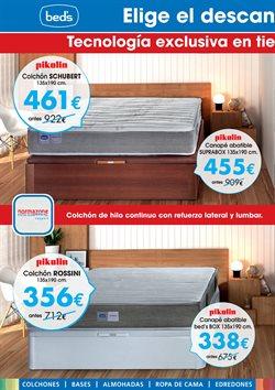 Ofertas de Camas  en el folleto de Beds en Palma de Mallorca