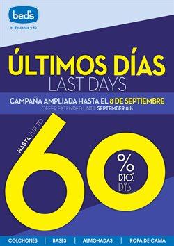 Ofertas de Hogar y muebles  en el folleto de Beds en Torremolinos