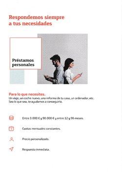 Ofertas de Préstamos en Bankinter