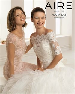Ofertas de Vestidos de novia  en el folleto de Aire Barcelona en Madrid