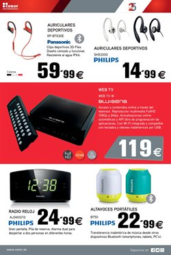 Ofertas de Radio  en el folleto de Cenor en A Coruña