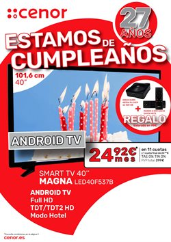 Ofertas de Cenor  en el folleto de Oviedo
