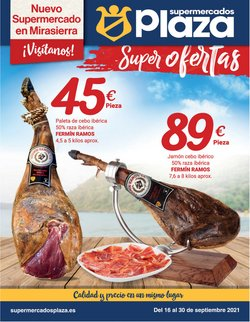 Catálogo Supermercados Plaza ( 10 días más)