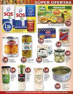 Ofertas de Alcachofas  en el folleto de Supermercados Plaza en Madrid