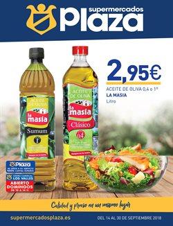 Ofertas de Supermercados Plaza  en el folleto de Madrid