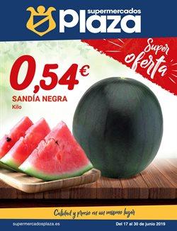 Ofertas de Hiper-Supermercados  en el folleto de Supermercados Plaza en Sant Cugat del Vallès