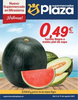 Catálogo Supermercados Plaza ( Publicado hoy)