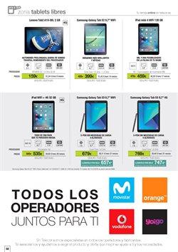 Ofertas de IPod  en el folleto de Telecor en Madrid