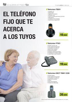 Ofertas de Teléfono inalámbrico  en el folleto de Telecor en Ourense