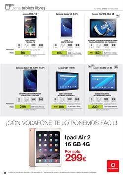Ofertas de IPad  en el folleto de Telecor en Madrid