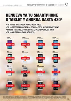 Ofertas de Samsung Galaxy S3  en el folleto de Telecor en Madrid