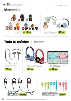 Ofertas de Auriculares  en el folleto de Telecor en Madrid