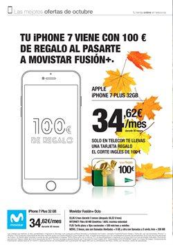 Ofertas de Tarifas movistar  en el folleto de Telecor en Vecindario