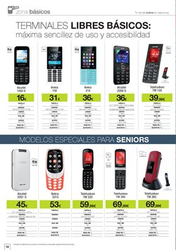 Ofertas de Alcatel  en el folleto de Telecor en Vecindario