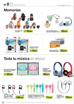 Ofertas de Audio  en el folleto de Telecor en Madrid