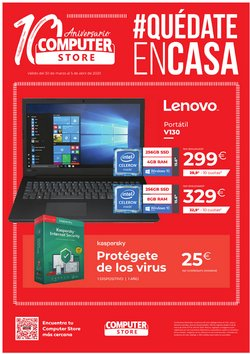 Catálogo Computer Store en Lebrija ( Caduca hoy )
