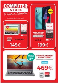 Ofertas de Informática y Electrónica en el catálogo de Computer Store ( Caduca mañana)
