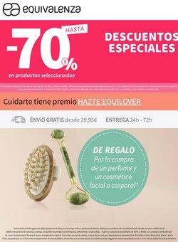 Ofertas de perfumes en el catálogo de Equivalenza ( Publicado ayer)