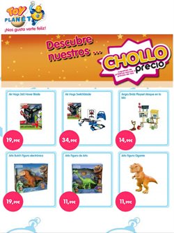 Ofertas de Toy Planet  en el folleto de Madrid