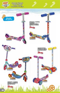 Ofertas de Patinete  en el folleto de Toy Planet en Oviedo
