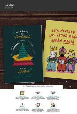 Ofertas de UNICEF  en el folleto de Terrassa
