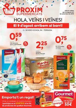 Ofertas de Pròxim Supermercados  en el folleto de Molins de Rei