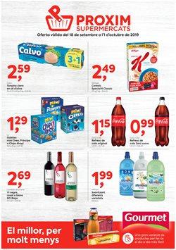 Ofertas de Pròxim Supermercados  en el folleto de Cerdanyola del Vallès
