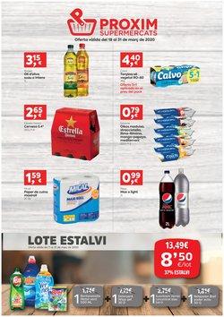 Catálogo Pròxim Supermercados en Santa Pau ( 3 días más )