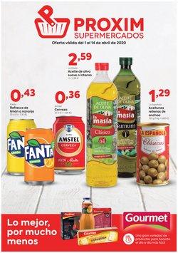 Catálogo Pròxim Supermercados en Jimena de la Frontera ( 4 días más )