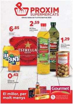 Catálogo Pròxim Supermercados en Vic ( 7 días más )