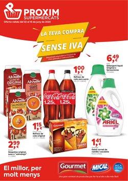 Catálogo Pròxim Supermercados en Tarragona ( 3 días publicado )