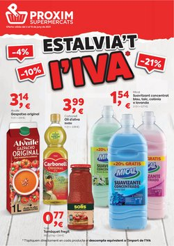 Catálogo Pròxim Supermercados ( 2 días más)