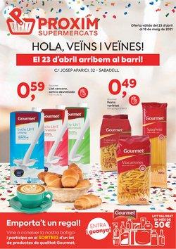 Catálogo Pròxim Supermercados ( 10 días más)