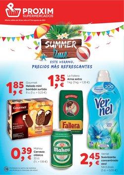 Ofertas de Pròxim Supermercados en el catálogo de Pròxim Supermercados ( 13 días más)