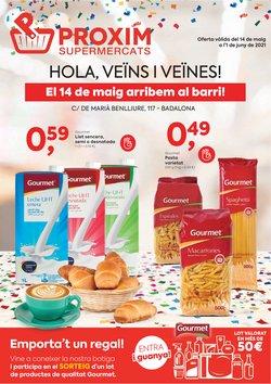 Catálogo Pròxim Supermercados ( 14 días más)