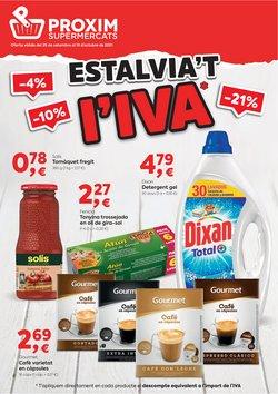 Ofertas de Pròxim Supermercados en el catálogo de Pròxim Supermercados ( 3 días más)