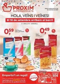 Ofertas de Pròxim Supermercados en el catálogo de Pròxim Supermercados ( 5 días más)