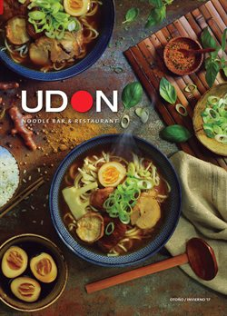 Ofertas de UDON  en el folleto de Madrid