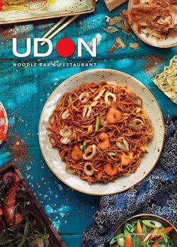 Ofertas de UDON  en el folleto de Barcelona