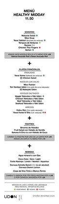 Catálogo UDON en Bilbao ( Más de un mes )